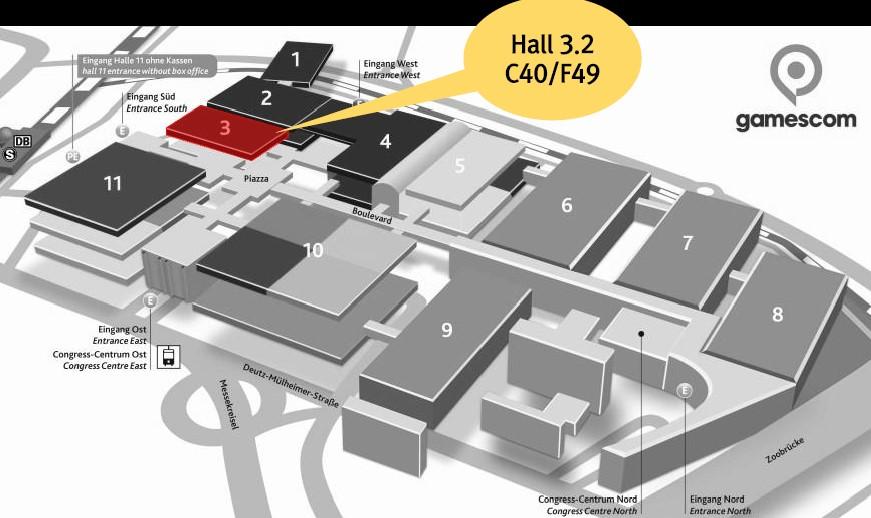 Musai Booth Location at Gamescom2019